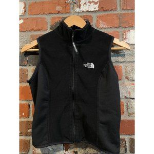 THE NORTH FACE CROPPED BLACK VEST